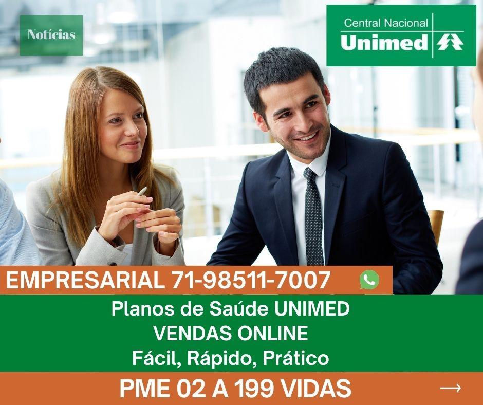 Planos Corporativos Empresariais, 02 a 29 vidas | Tab Unimed PME Salvador