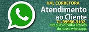 VAL CORRETORA - ATENDIMENTO AO CLIENTE -