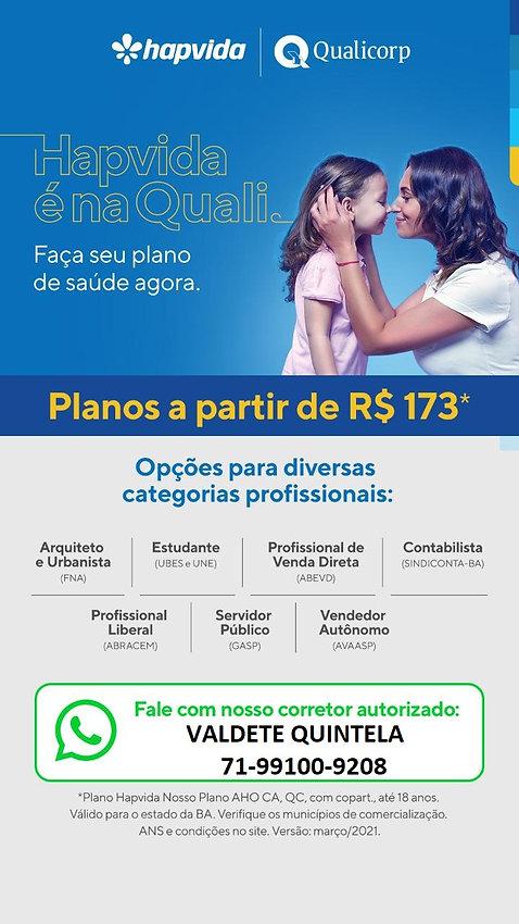TABELAS QUALICORP-PLANOS DE SAUDE HAPVID