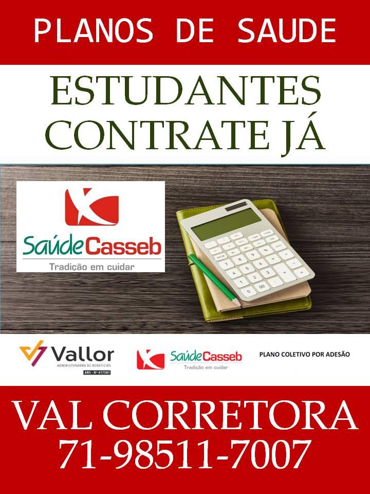 Tabelas Saude Casseb | Vallor | Adesão Salvador