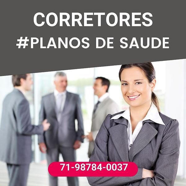 PLANO DE SAUDE, CORRETORA VENDAS DE PLANOS DE SAUDE
