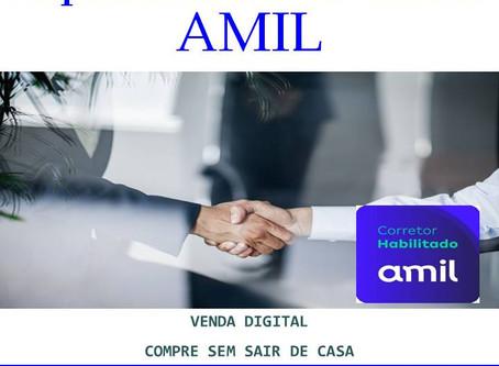 Corretor Amil Digital | Tabelas 02 a 99 funcionários | Linha Selecionada