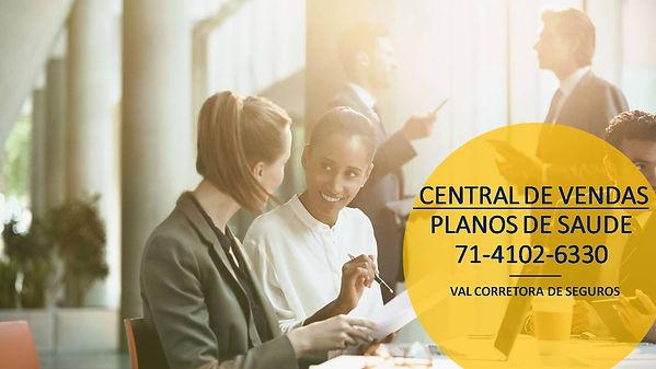 CENTRAL DE VENDAS PLANOS DE SAUDE PARA EMPRESAS