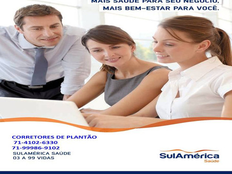 SulAmérica Saúde Empresarial A saúde dos seus colaboradores está em nossos planos.
