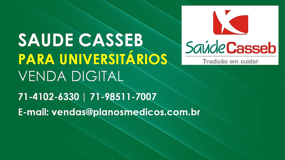 Saude Casseb   Vallor   Adesão Salvador