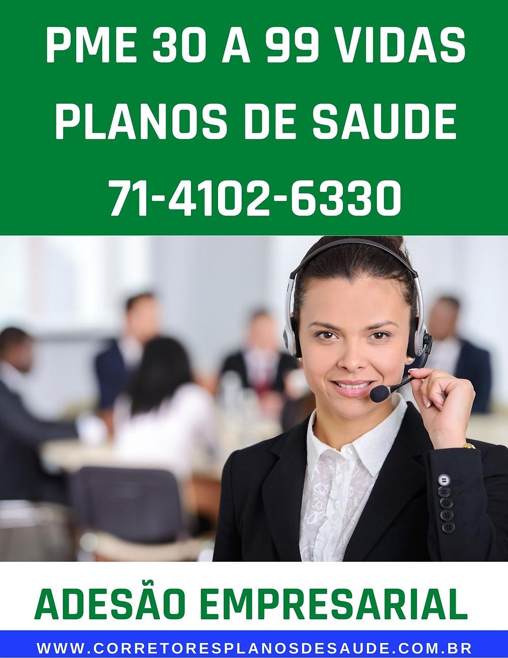 30 a 99 vidas   Planos Empresariais