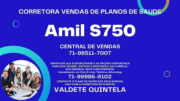 PLANO DE SAUDE EMPRESARIAL AMIL S750