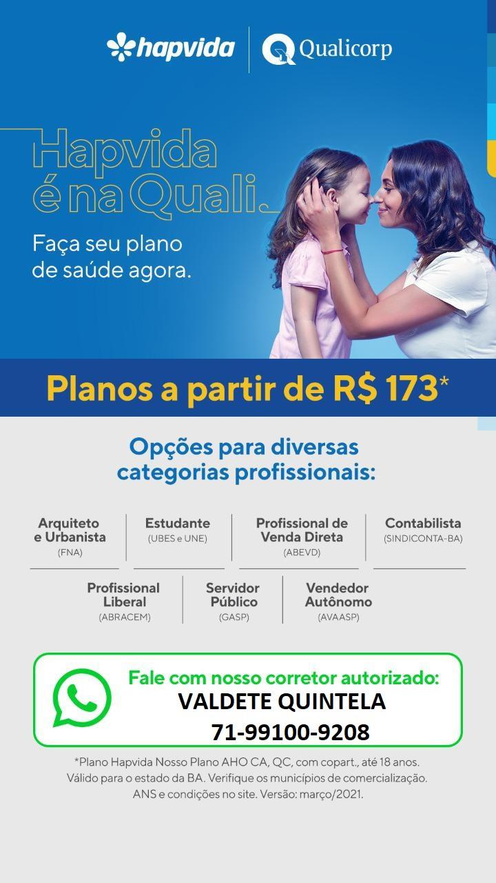 Tab HapVida Nosso Plano | Salvador