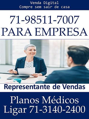 VENDEDORES PLANO DE SAUDE EMPRESARIAL