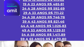 Tabelas Amil Empresas Bahia
