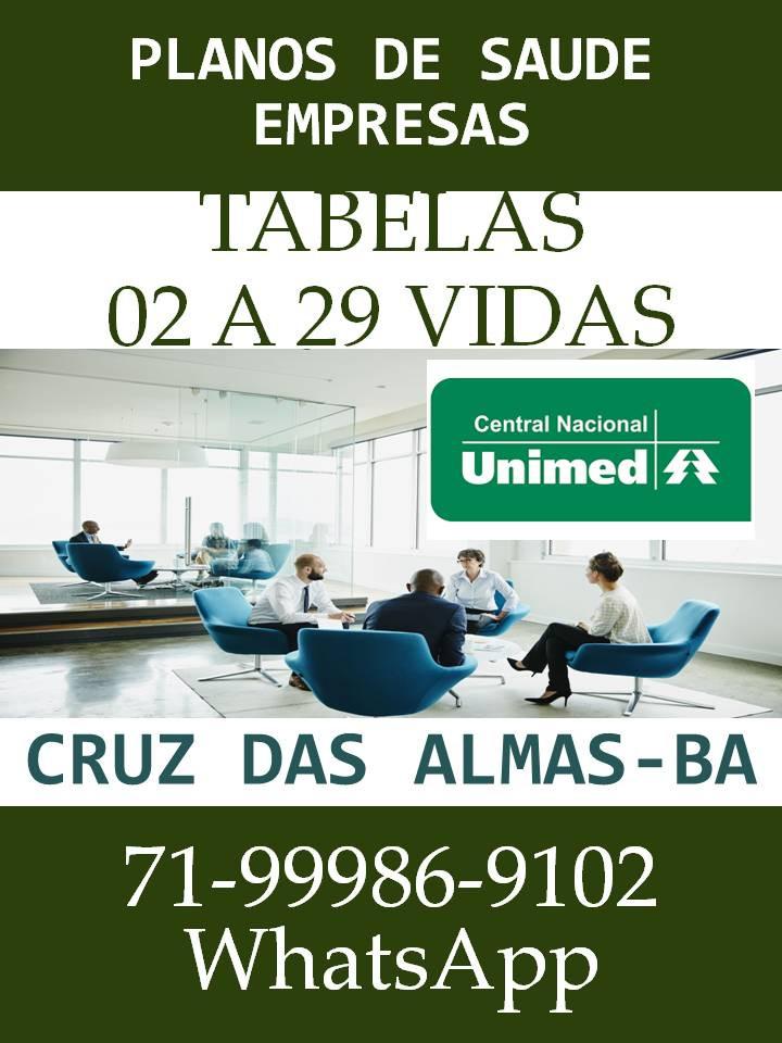 Tabelas de Vendas Unimed Central Nacional em Salvador - Como Contratar?