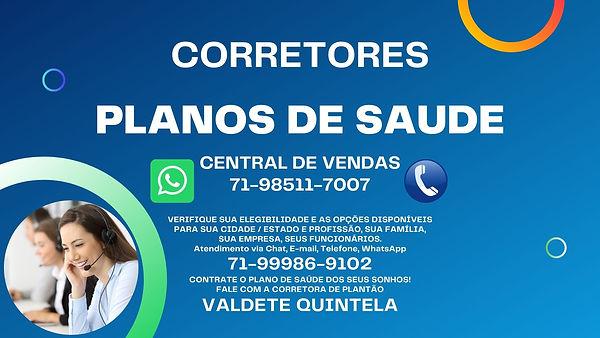 PLANOS DE SAUDE - CORRETORES