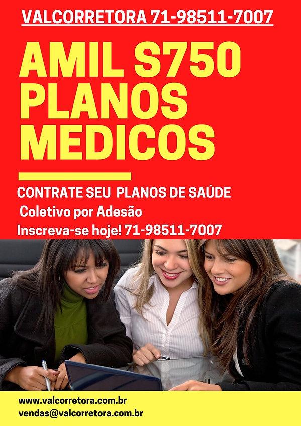 PLANOS EMPRESARIAIS AMIL S750