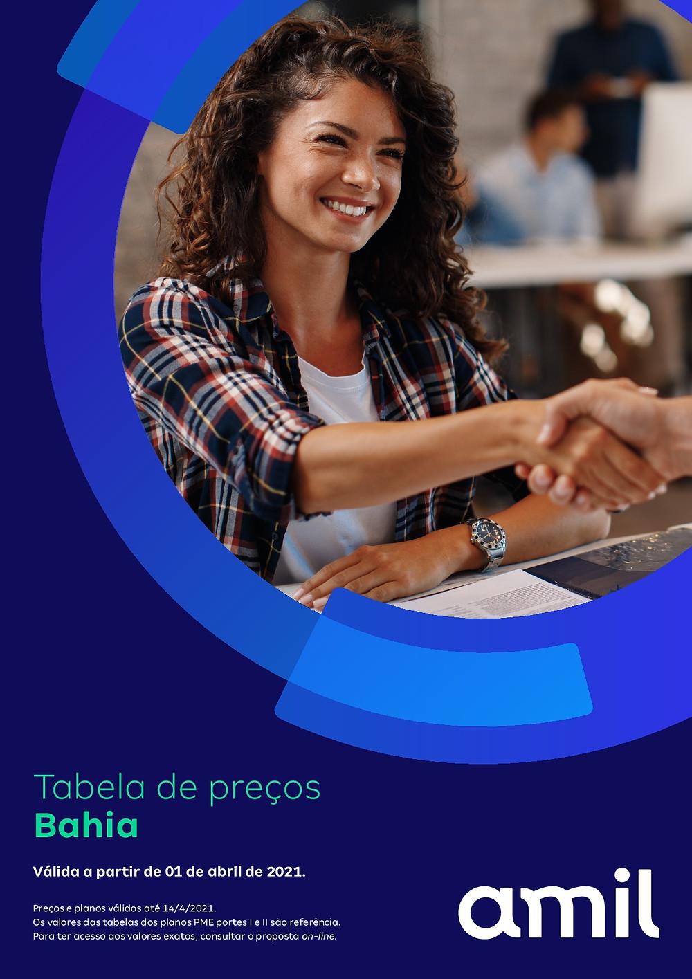 Tabelas Amil | CNPJ do Estado da Bahia