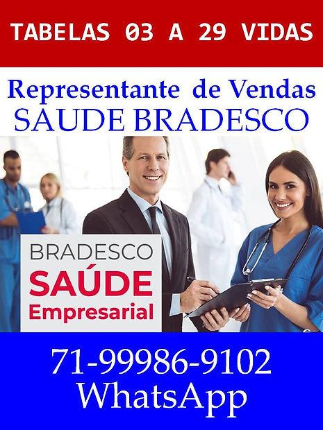 TABELAS 03 A 29 VIDAS SAUDE BRADESCO