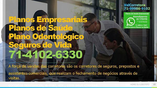 CENTRAL DE VENDAS PLANOS DE SAUDE PARA EMPRESAS, PLANO ODONTOLOGICO EMPRESARIAL, SEGURO DE VIDA EMPRESARIAL