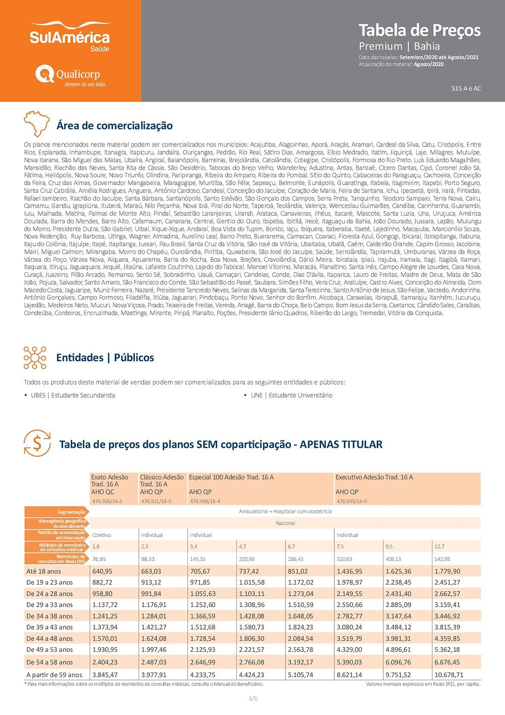 PLANOS DE SAUDE, (Estudantes Universitarios) | SulAmerica Saude Adesão
