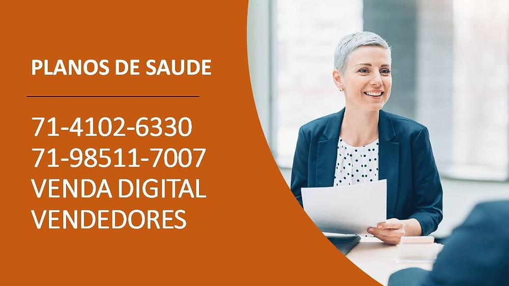 Salvador 71-4102-6330 - SulAmerica Saude | Plano Empresarial | Venda Digital