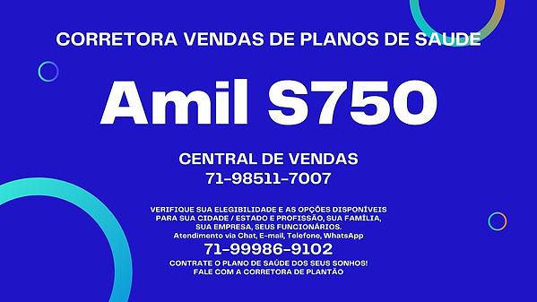 AMIL PLANO S750 EM SP