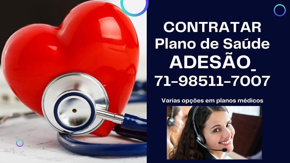 Plano de Saude Adesão Individual | Adesão Familiar | Salvador-Bahia