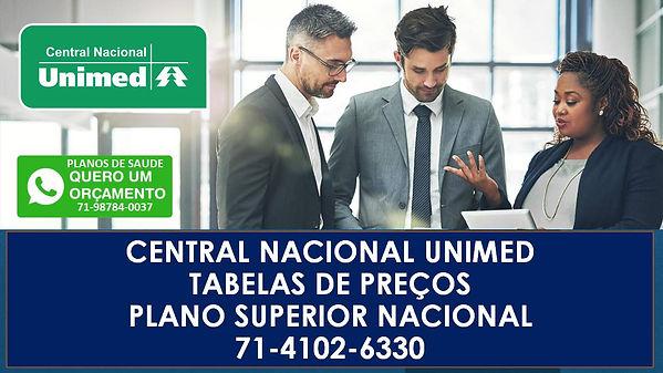 central nacional unimed plano superior.J