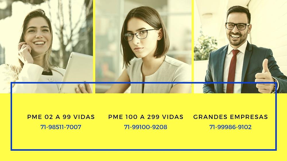 Planos de Saude | Empresas com CNPJ - Bahia*