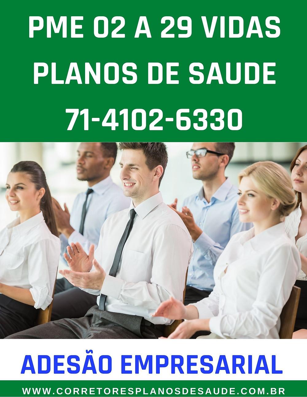 02 a 29 vidas - Planos Empresariais
