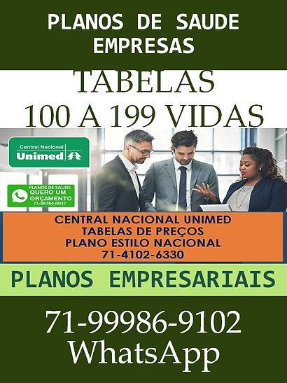 UNIMED -PLANOS EMPRESARIAIS - 100 A 199