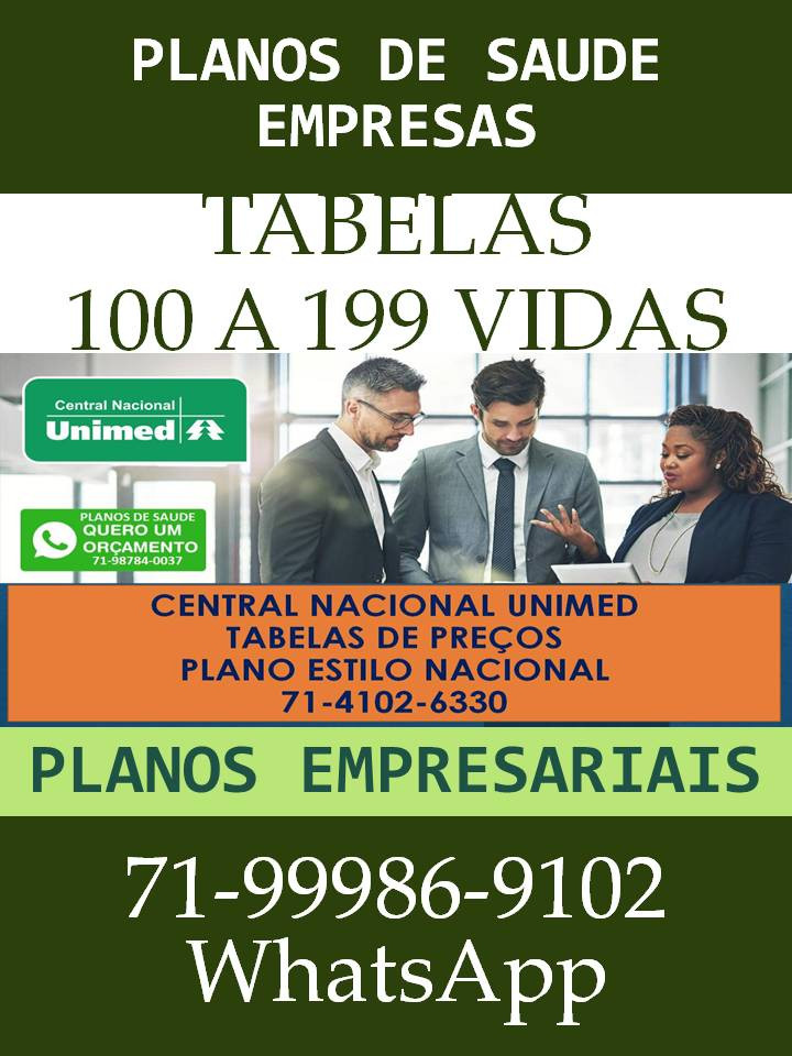 Brasilia | Lançamento | Unimed 0865 | Planos Empresariais | Tabela Compulsória