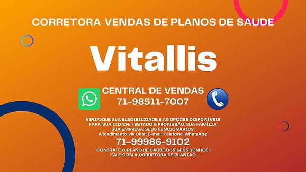 CONTRATAR PLANO DE SAUDE VITALLIS PARA GRANDES EMPRESAS