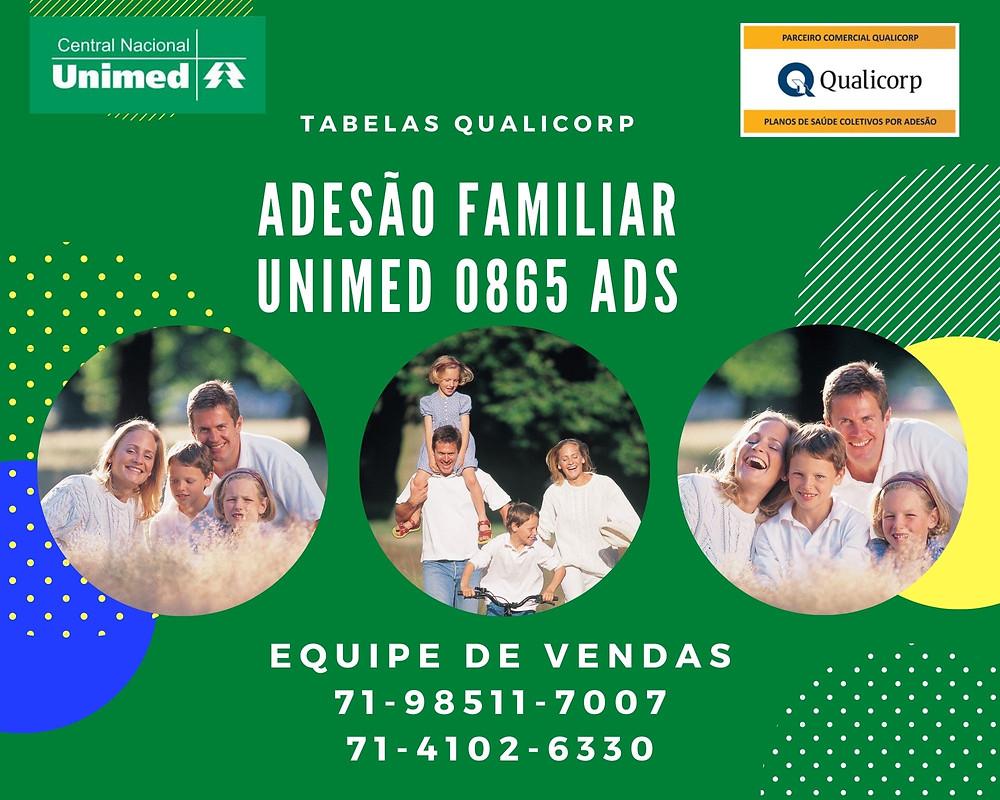 Unimed CNU ADS | Familiar | Tab Qualicorp