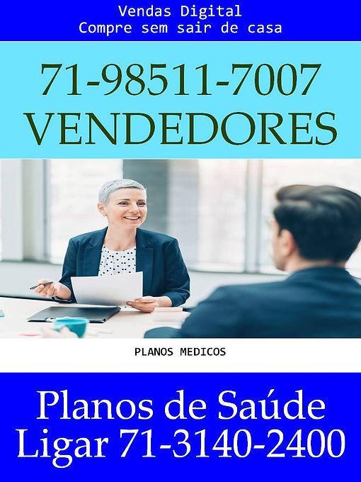VENDAS PLANOS DE SAUDE