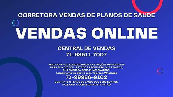 VENDAS ONLINE PLANOS DE SAUDE EMPRESARIAIS