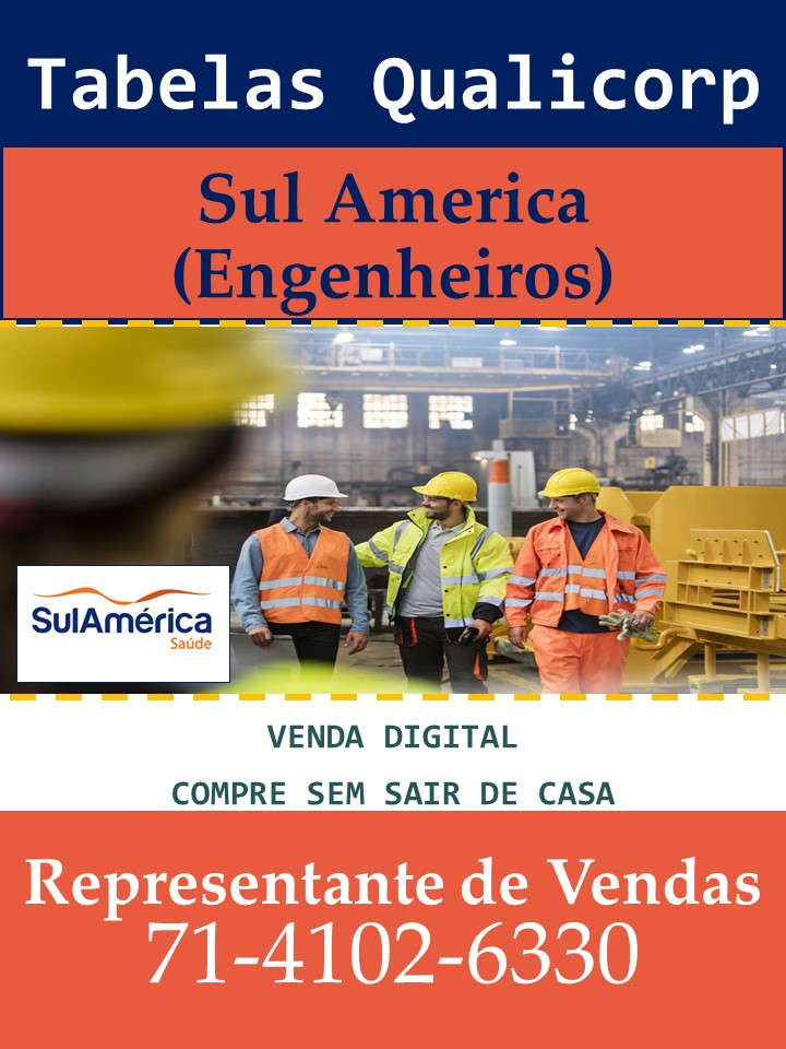 Lançamento SulAmerica Saude Familiar | Tabelas Qualicorp