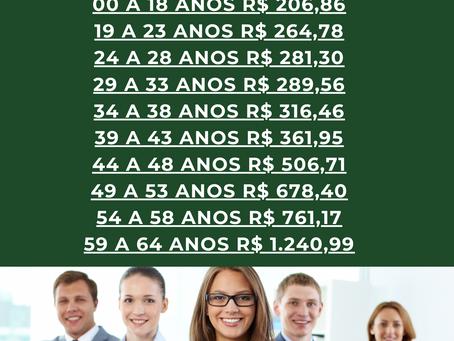71-4102-6330 (Simões Filho) 02 a 199 Vidas - Unimed para Empresas - Tabela Plano de Saude