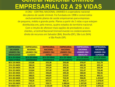 Empresarial | Central Nacional Unimed | Salvador | Camaçari