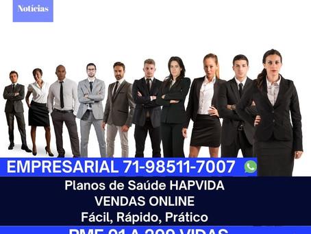 71-4102-6330 LANÇAMENTO VENDAS DIGITAL 02 a 99 Vidas HAP VIDA - Planos de Saude