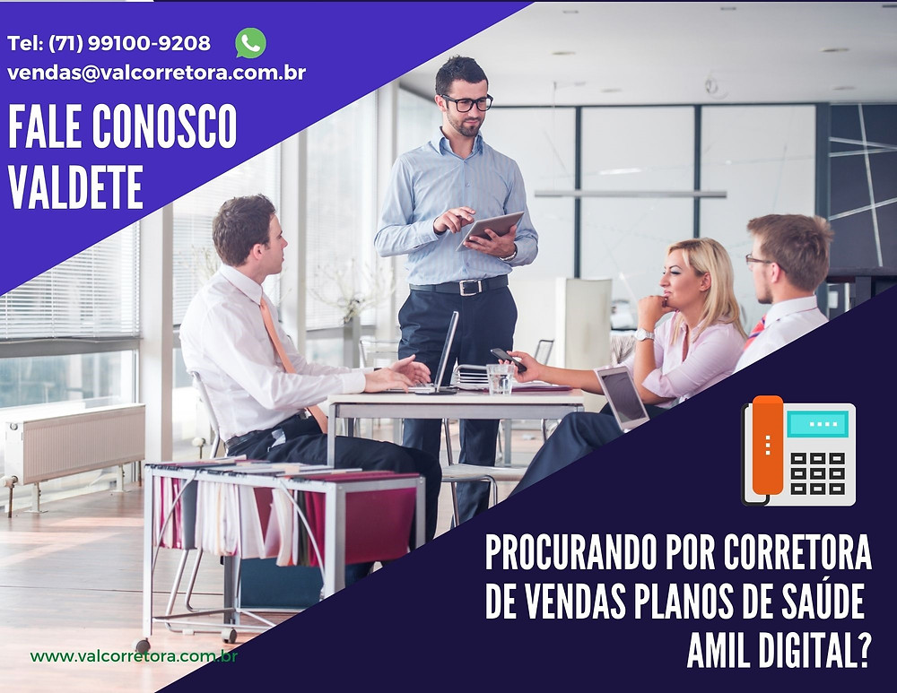 Corretor Amil Digital | Planos Empresariais