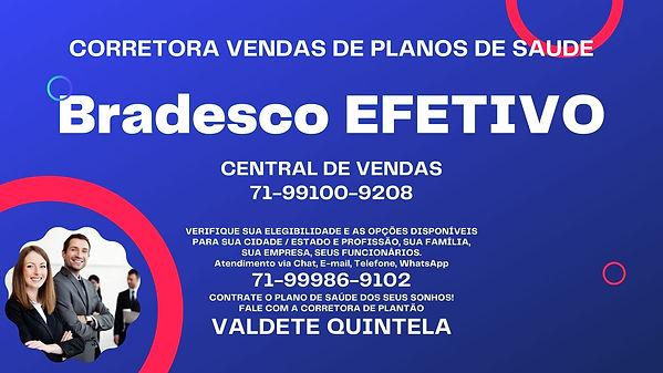 PLANO DE SAUDE BRADESCO EFETIVO