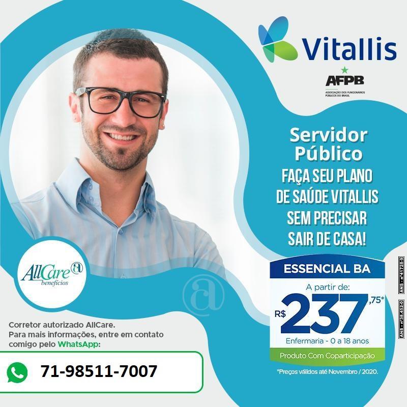 Corretores | Planos Vitallis Adesão Allcare - Bahia