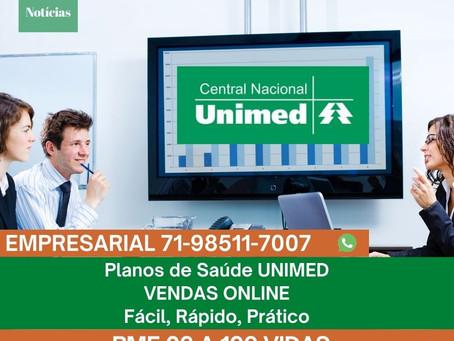 PME Unimed em Salvador | Vendas Digital | 71-98511-7007