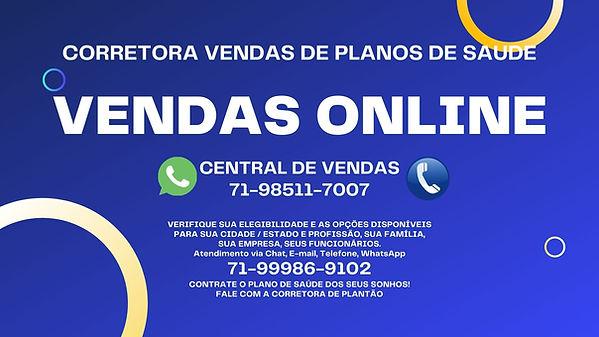 VENDAS ONLINE PLANOS DE SAUDE AMIL