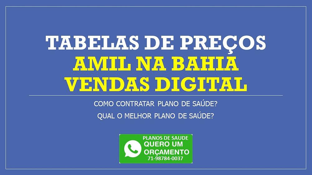 Qual o melhor plano de saúde com cobertura nacional? Qual o valor do plano de saúde Amil? Qual é o melhor plano de saúde de Salvador?