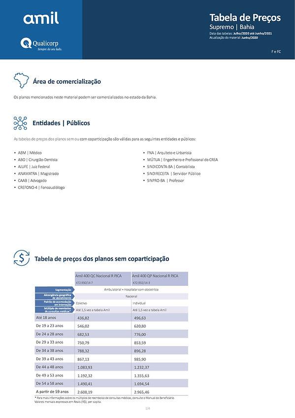 06-2021 - AMIL SUPREMO - TABELAS QUALICO