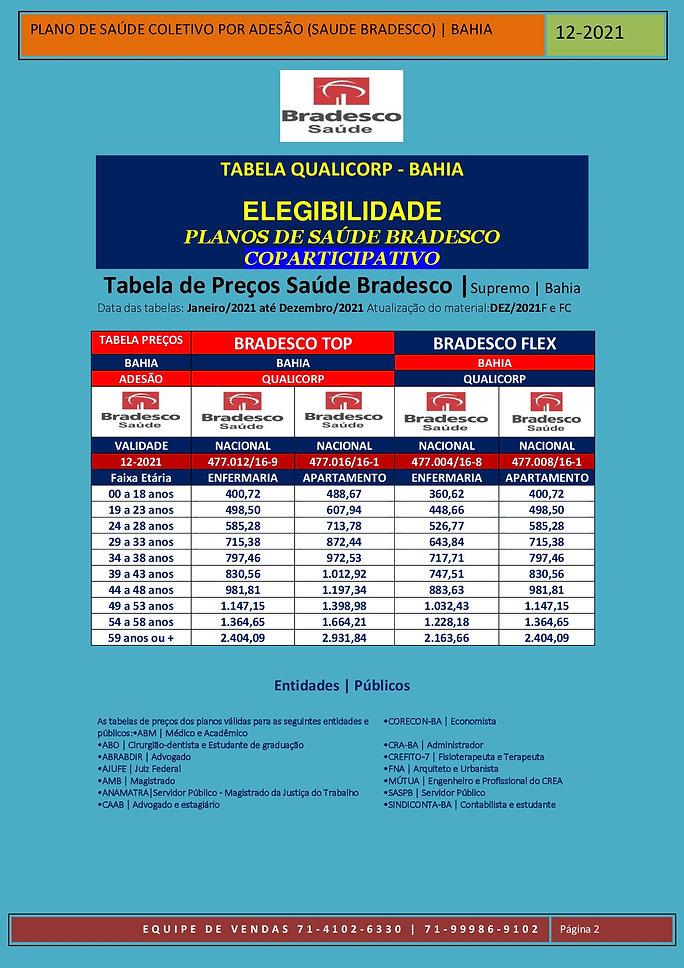 12-2021 SUPREMO - BRADESCO SAUDE TABELAS
