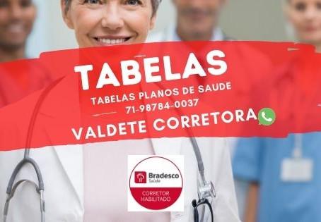 71-98511-7007 Tabelas Saude Bradesco | Servidor Federal