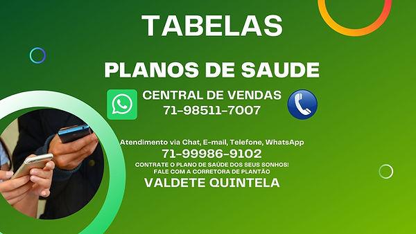 TABELAS DE PREÇOS PLANOS DE SAUDE, PLANO DE SAUDE