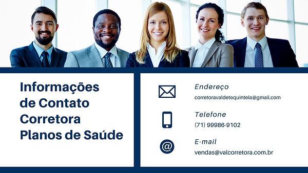 CORRETORA VENDAS DE PLANOS DE SAÚDE