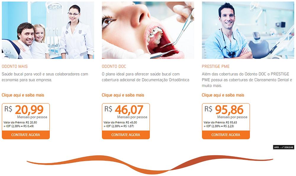 Quanto custa o Plano Odontologico SulAmerica? Qual o melhor plano odontologico com cobertura nacional?
