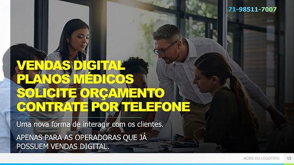 vendas digital planos de saude na Bahia